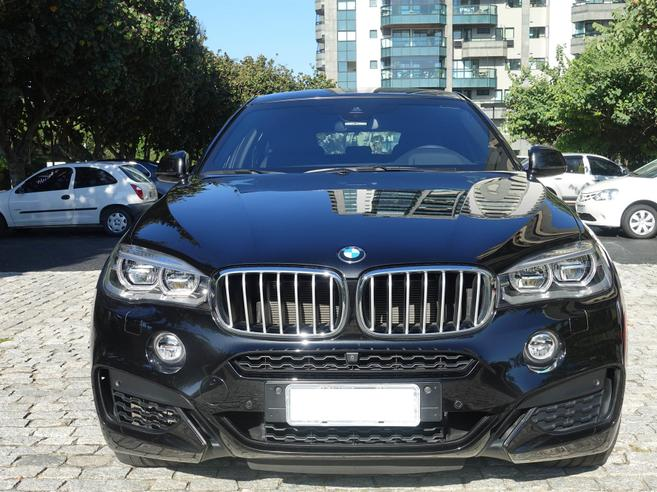 BMW X6 4.4 M SPORT 4X4 COUPÉ V8 32V BI-TURBO GASOLINA 4P AUTOMÁTICO 2015/2016