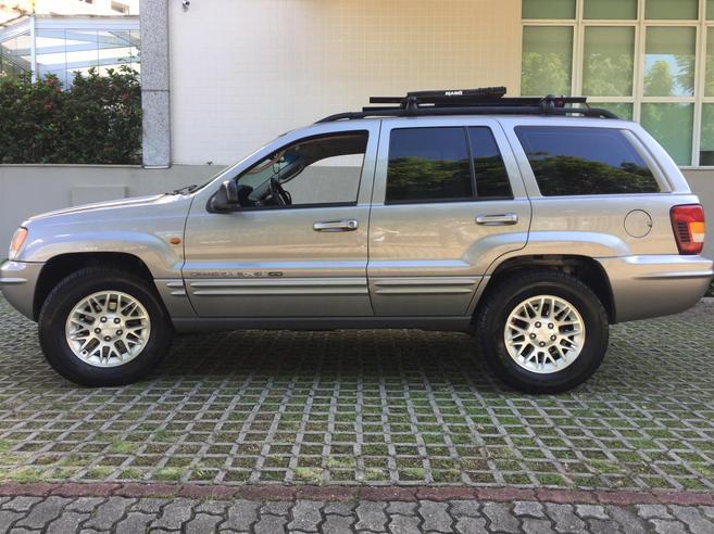 JEEP GRAND CHEROKEE 4.7 LIMITED 4X4 V8 16V GASOLINA 4P AUTOMÁTICO 2002/2002