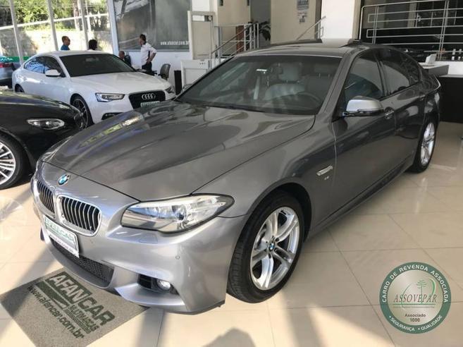 BMW 528i 2.0 M SPORT 16V GASOLINA 4P AUTOMÁTICO 2014/2015