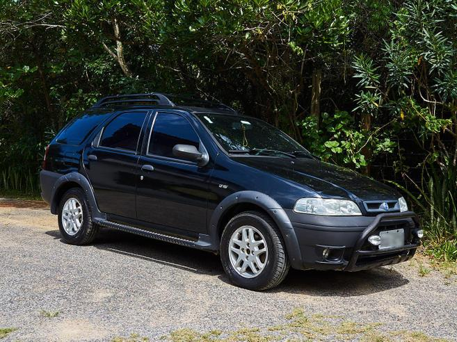 FIAT PALIO 1.6 MPI ADVENTURE WEEKEND 16V GASOLINA 4P MANUAL 2002/2002