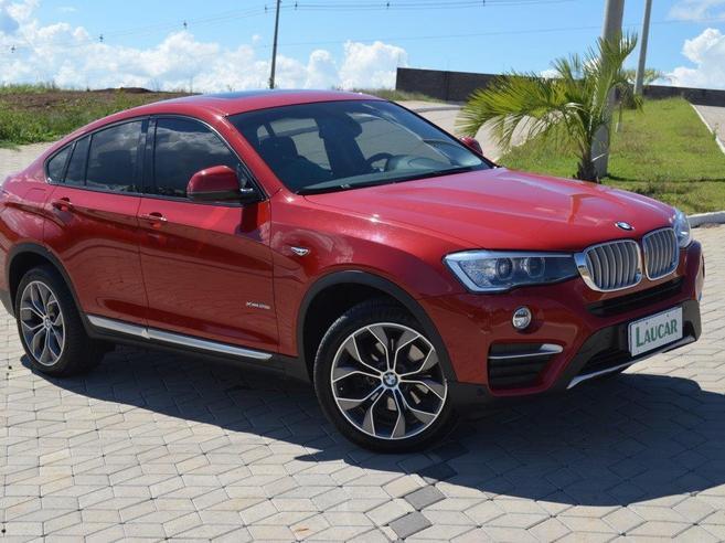 BMW X4 2.0 28I X LINE 4X4 16V TURBO GASOLINA 4P AUTOMÁTICO 2016/2016