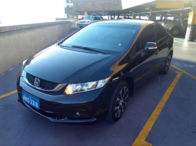 HONDA CIVIC 2.0 LXR 16V FLEX 4P AUTOMÁTICO 2014/2015