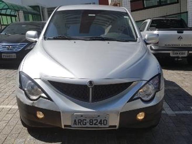 SSANGYONG ACTYON SPORTS 2.0 GL 4X4 CD 16V TURBO INTERCOOLER DIESEL 4P AUTOMÁTICO 2008/2009