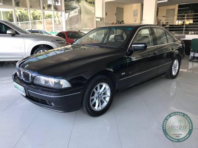 BMW 540i 4.4 PROTECTION SEDAN V8 32V GASOLINA 4P AUTOMÁTICO 2002/2003