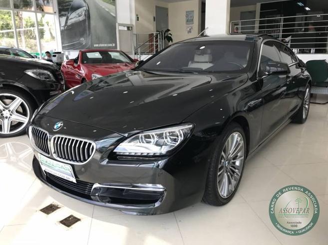 BMW 640i 3.0 GRAN COUPÉ 24V GASOLINA 4P AUTOMÁTICO 2013/2014