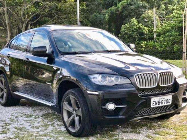 BMW X6 4.4 50I 4X4 COUPÉ 8 CILINDROS 32V BI-TURBO GASOLINA 4P AUTOMÁTICO 2009/2010
