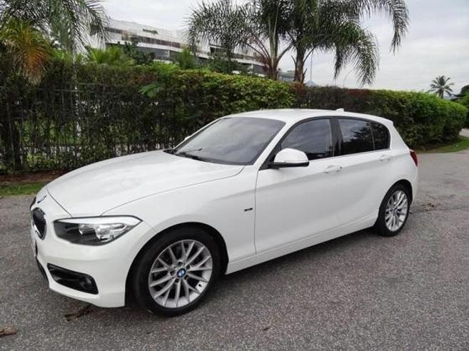 BMW 120i 2.0 16V SPORT ACTIVEFLEX 4P AUTOMÁTICO 2015/2016