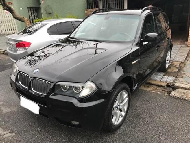 BMW X3 3.0 SPORT 4X4 24V GASOLINA 4P AUTOMÁTICO 2008/2008