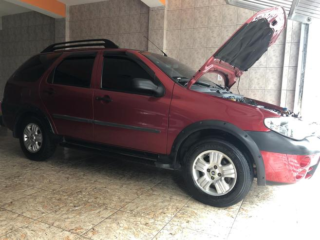 FIAT PALIO 1.8 MPI ADVENTURE WEEKEND 8V FLEX 4P MANUAL 2006/2006