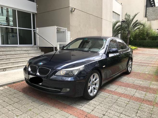 BMW 530i 3.0 SPORT SEDAN 24V GASOLINA 4P AUTOMÁTICO 2007/2008