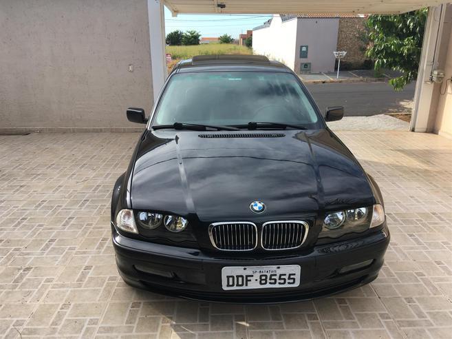 BMW 325i 2.5 SEDAN 24V GASOLINA 4P AUTOMÁTICO 2000/2001