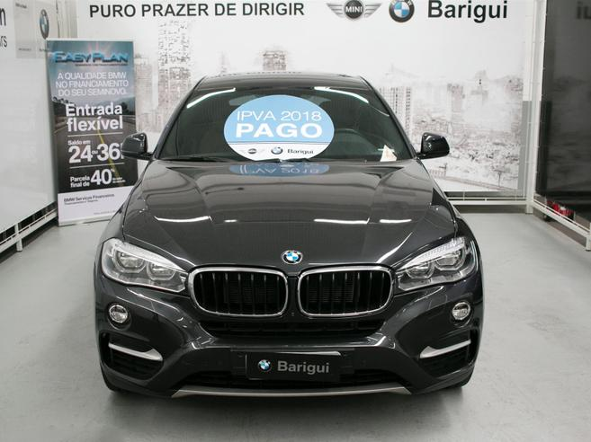 BMW X6 3.0 35I 4X4 COUPÉ 6 CILINDROS 24V GASOLINA 4P AUTOMÁTICO 2016/2017