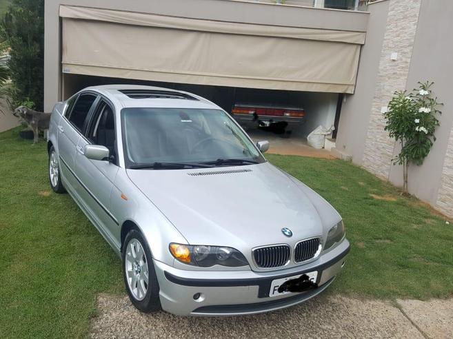 BMW 325i 2.5 SEDAN 24V GASOLINA 4P AUTOMÁTICO 2002/2002