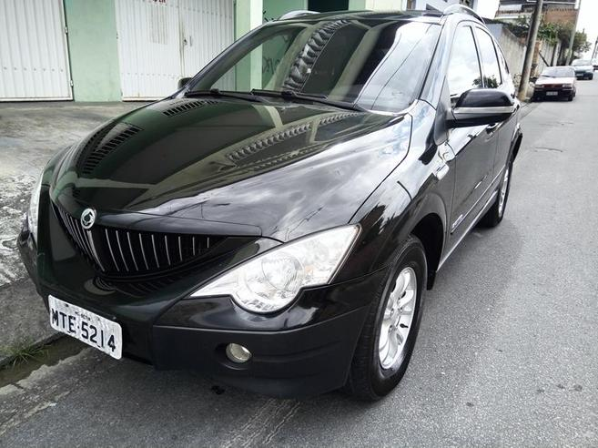 SSANGYONG ACTYON 2.0 GL 4X4 16V 141CV TURBO INTERCOOLER DIESEL 4P AUTOMÁTICO 2010/2010