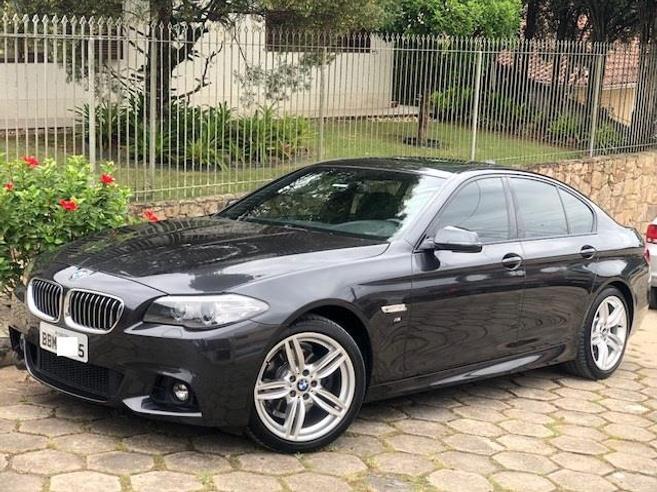 BMW 528i 2.0 M SPORT 16V GASOLINA 4P AUTOMÁTICO 2014/2014