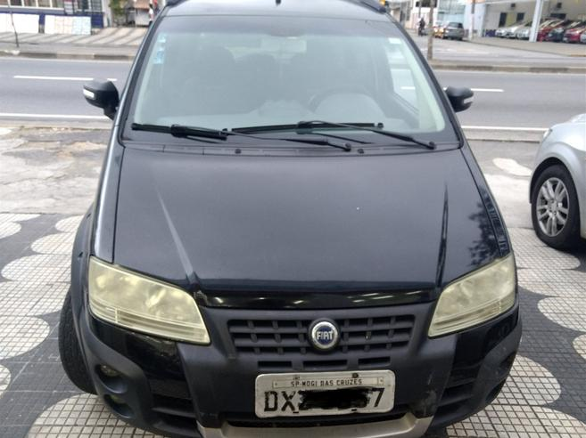 FIAT IDEA 1.8 MPI ADVENTURE LOCKER 8V FLEX 4P MANUAL 2007/2008