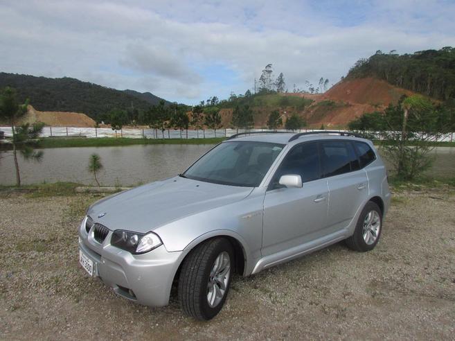 BMW X3 3.0 SPORT 4X4 24V GASOLINA 4P AUTOMÁTICO 2005/2006