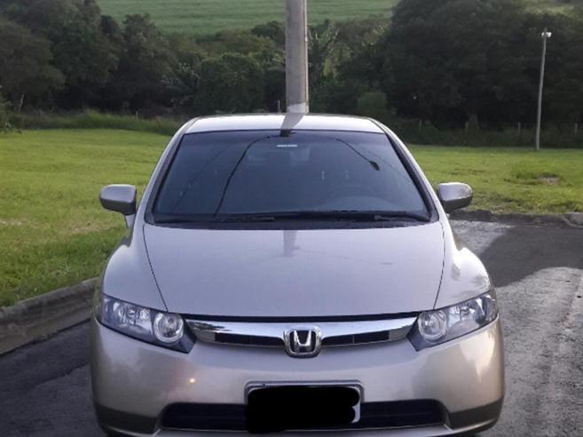 HONDA CIVIC 1.8 LXS 16V GASOLINA 4P AUTOMÁTICO 2007/2007