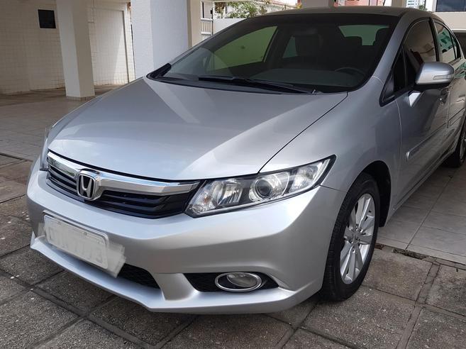 HONDA CIVIC 2.0 LXR 16V FLEX 4P AUTOMÁTICO 2014/2014