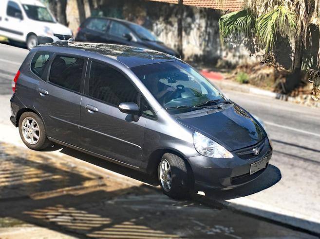 HONDA FIT 1.5 EX 16V GASOLINA 4P AUTOMÁTICO 2007/2008