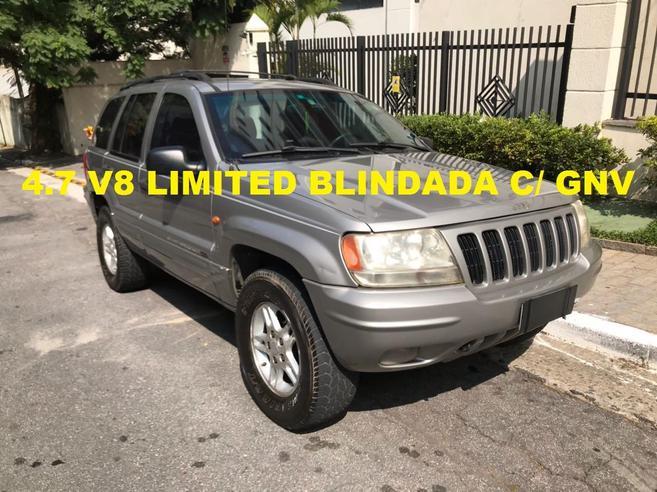 JEEP GRAND CHEROKEE 4.7 LIMITED QUADRA DRIVE 4X4 V8 16V GASOLINA 4P AUTOMÁTICO 1999/1999