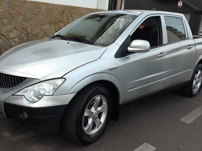 SSANGYONG ACTYON 2.0 GL 4X4 16V 141CV TURBO INTERCOOLER DIESEL 4P AUTOMÁTICO 2009/2010