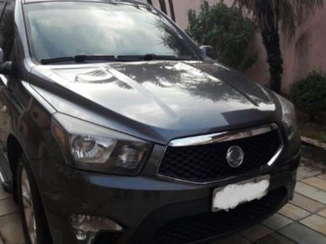 SSANGYONG ACTYON SPORTS 2.0 GLX 4X4 CD 16V TURBO INTERCOOLER DIESEL 4P AUTOMÁTICO 2012/2013