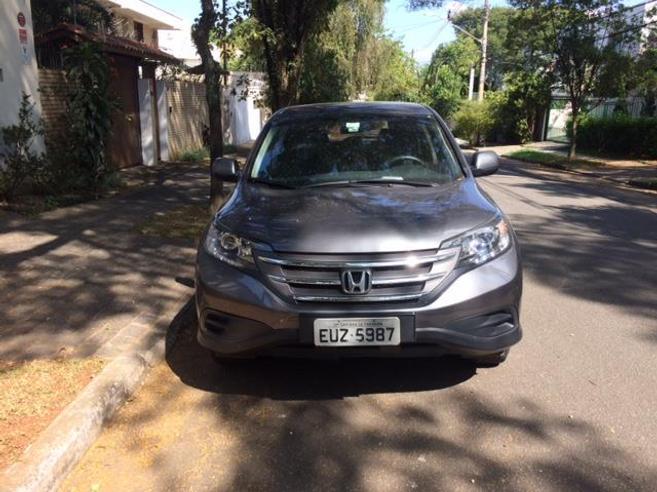 HONDA CRV 2.0 LX 4X2 16V GASOLINA 4P MANUAL 2012/2012