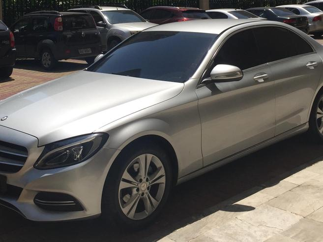 MERCEDES-BENZ C 180 1.6 CGI EXCLUSIVE 16V TURBO GASOLINA 4P AUTOMÁTICO 2015/2015